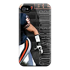 High Quality Hard Phone Case For Iphone 6plus (AfJ11508xGeo) Support Personal Customs Realistic Chicago Bears Image