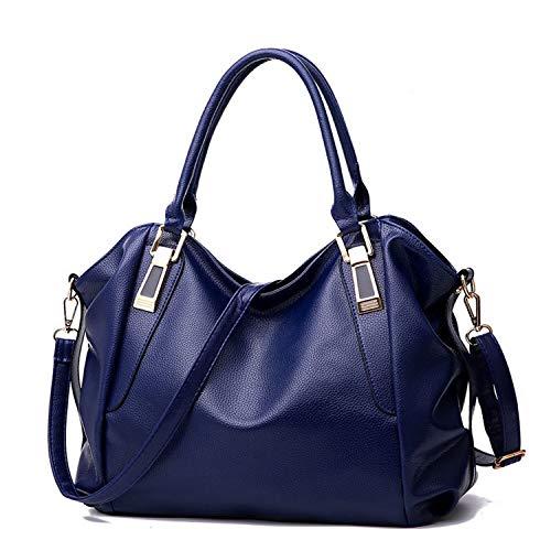 Main Capacité À Bag En Style Constructs Femme Brown Grand Célèbre Pu Doux Shouldermessenger Grande Cuir Sac Mode Simple zSxHxBqCw