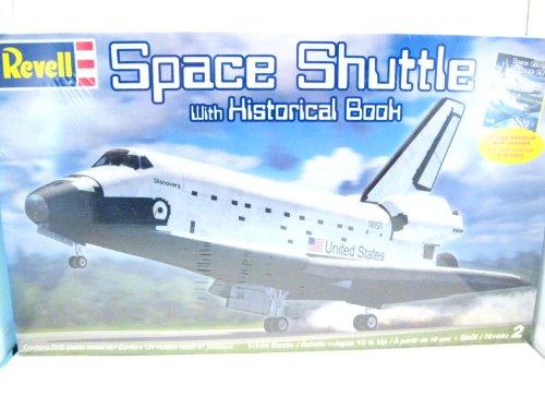 アメリカレベル 1/144 スペースシャトル w/ヒストリカルブック 06880 プラモデルの商品画像
