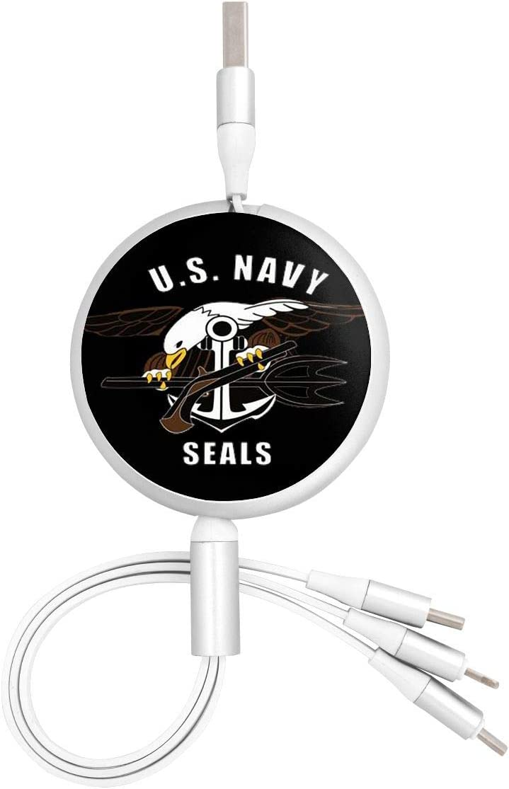 Us Navy Eaglesuitable for Any Mobile Phone Three in One Data Line