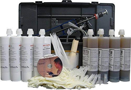 40 Urethane Contractor Kit Seal Concrete Cracks That Leak Water With Polyurethane Injection