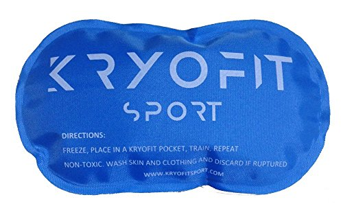 New Kryofit Cold Compression Sleeves w/Freeze Pack Inserts – 2 Sleeves w/ 4 Cryo Gels – for Arm/Wrist Cryotherapy, Muscle Recovery, Joint Support, Endurance Sports etc. by Kryofit Sport (Image #2)