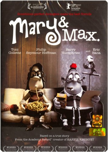 Amazon Com Mary And Max 2009 Brilliant Animated Comedy New Dvd Movies Tv