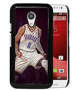 Motorola Moto G (2nd generation) Case,Russell Westbrook Black For Motorola Moto G (2nd generation) Case
