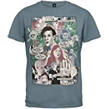 Old Glory Doctor Who - Mens Comic Book T-Shirt Large Blue