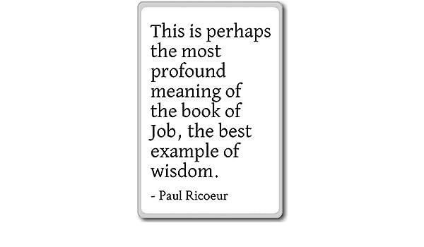 Esta Es Quizás La más profundo significado de T... - Paul Ricoeur ...