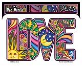 peace love cats decal - Dan Morris - Love - Sticker / Decal
