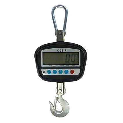 833134 300 kg Industrial electrónico portátil para colgar Crane báscula w/pantalla LCD