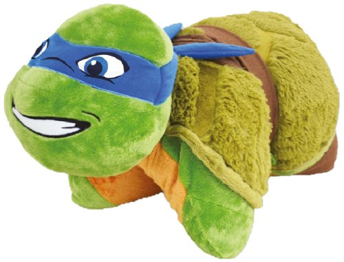 "Price comparison product image Pillow Pets - 18"" Leonardo Teenage Mutant Ninja Turtles"