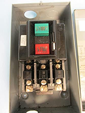 Allen bradley ser h size 0 enclosed manual motor starter for Allen bradley manual motor starter