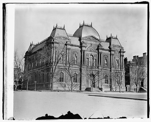 Photo: Old Corcoran Art Gallery,17th & PA - Washington Shopping Pa