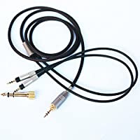 NEOMUSICIA Replacement upgrade Audio Cable For Audio-Technica ATH-R70x Professional headphone 1.2m/4FT