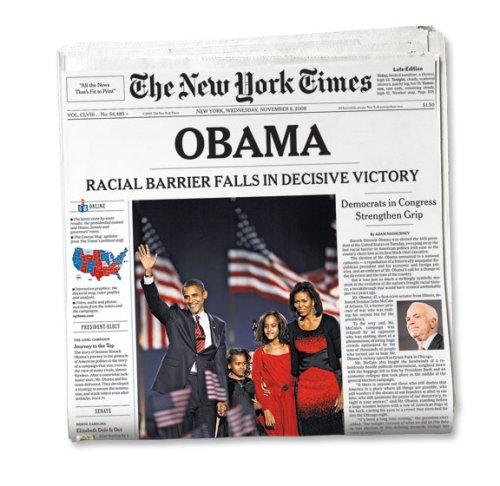 Barack Obama New York Times Newspaper From November 5 2008 Amazon Com Books