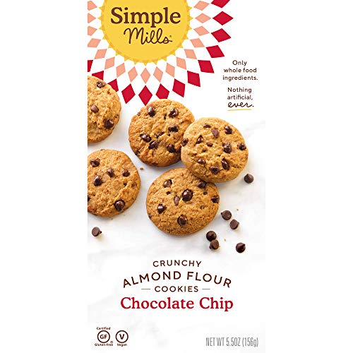 Simple Mills, Cookies Variety Pack, Chocolate Chip, Double Chocolate Chip, Toasted Pecan (3), Variety Pack (Packaging May Vary)