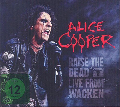 Blu-ray : Alice Cooper - Raise the Dead: Live from Wacken (With CD, 3 Disc)