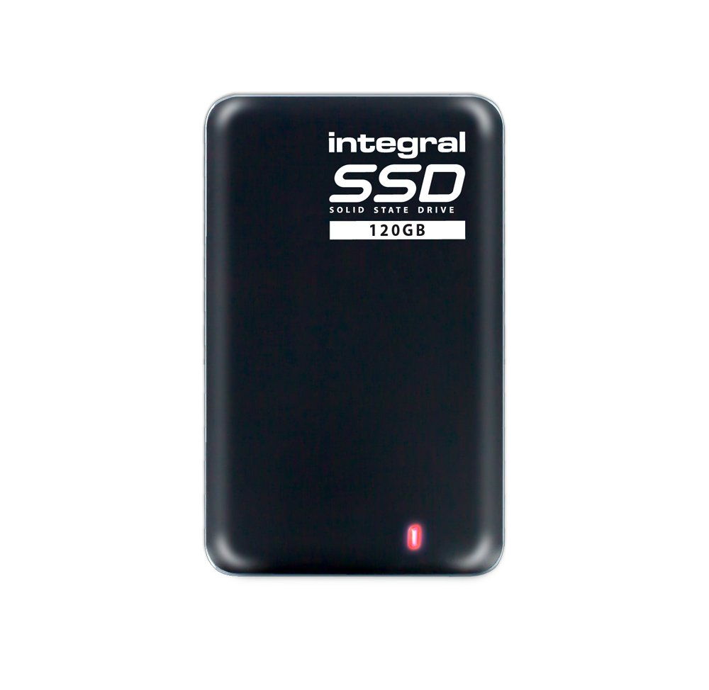 Integral 120GB USB3.0 Pocket-Sized Portable SSD External Storage Drive by Integral