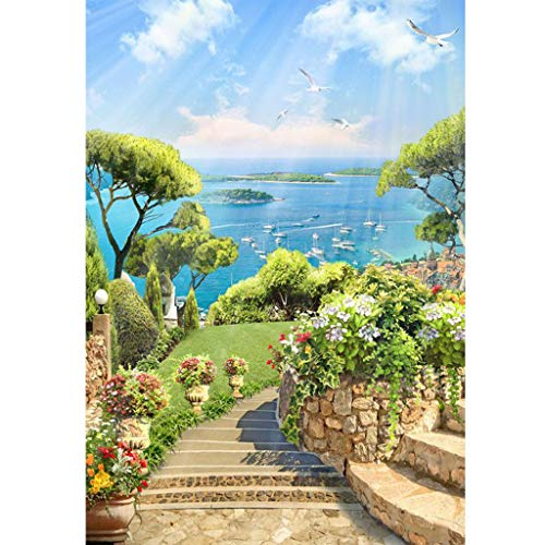 DIY 5D Full Drill Diamond Painting,Jchen(TM) Home Decorations Craft Landscape Series 5D DIY Diamond Painting Kit Pasted DIY Diamond Painting Cross Stitch (E)