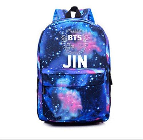 Satchel Kpop Jin Boys Sports Sky Bangtan Backpack Bts 1 Bags Starry Schoolbag qR1rqHpW