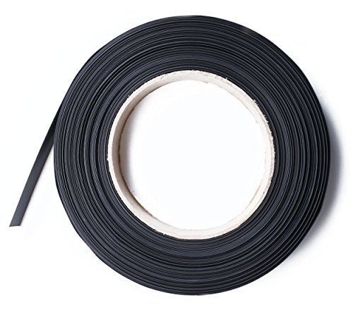 5' Heat Shrink Tube - Shapenty 5 Feet/1.5 Meters 2:1 Black Heat Shrink Tubing Wire Wrap Cable Sleeve Electric Insulation Connection Shrinkable Tube, 20mm Diameter