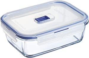 Luminarc Pure Box 9207677 Active Storage Box with Lid / Glass, 122 cl Transparent