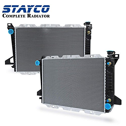 STAYCO CU1454 Complete Radiator for 1985-1997 Ford F-150 F-250 F-350 Bronc/F Series