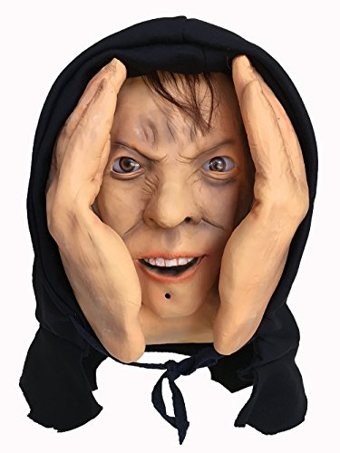 [Halloween Scary Realistic Animated Eyes Scary Peeper Window Prop] (Switch Witch Costume)