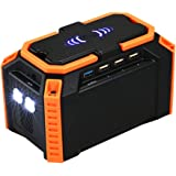 Lixada 100Wh Portable Power Station 40000mAh Lithium Battery Supply with DC QC3.0 USB Ports for Camping Travel Home Emergency