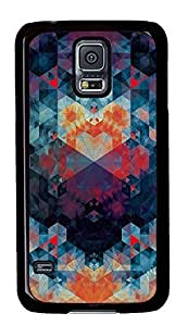 Samsung Galaxy S5 patterns abstract 88 PC Custom Samsung Galaxy S5 Case Cover Black