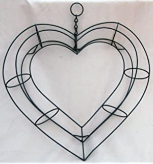 11 living wreath heart shape frame