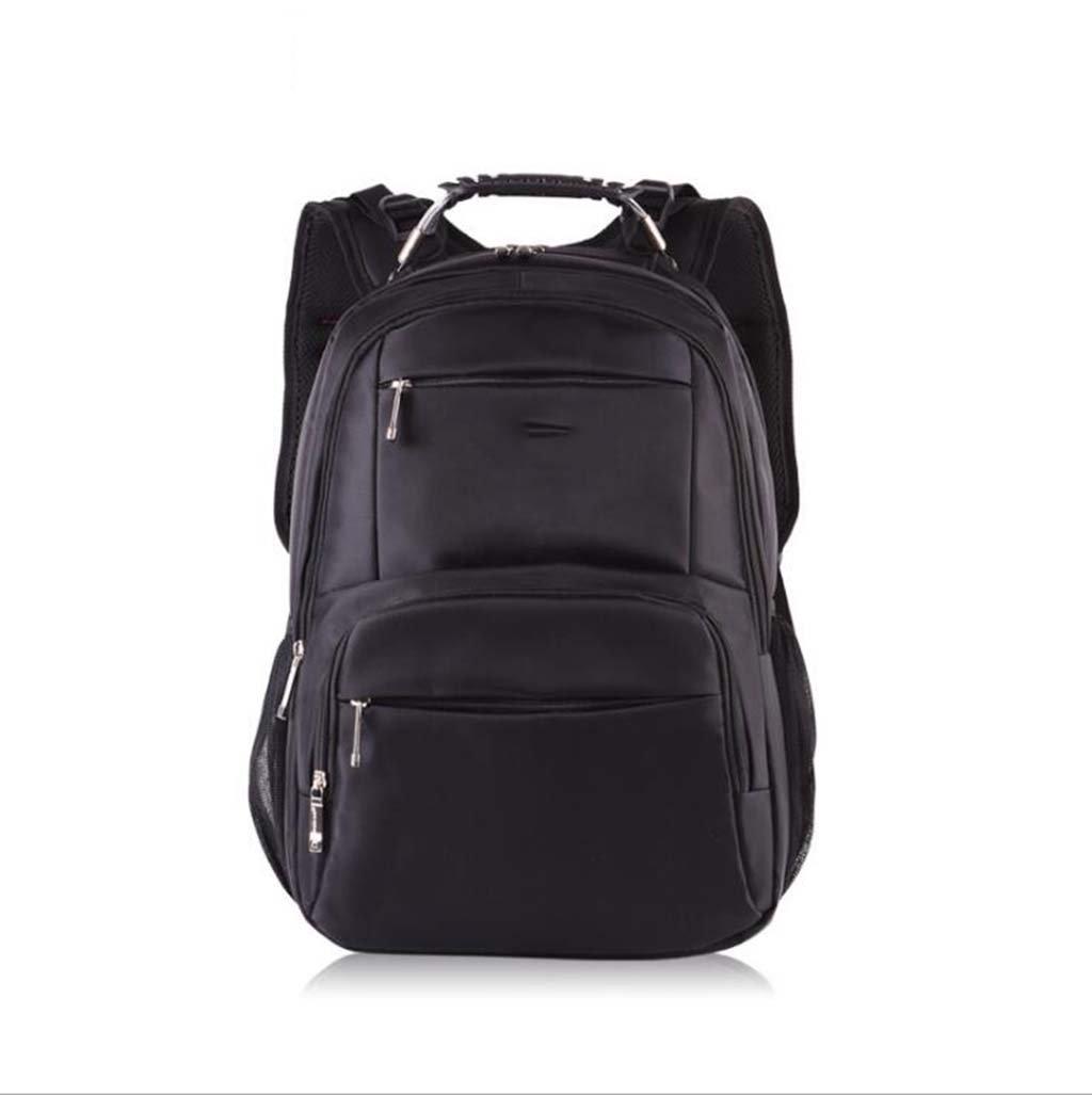 Black Outdoor Travel Backpack, Student Bag Double Shoulder Bag Multifunctional Casual Computer Backpack,Brown