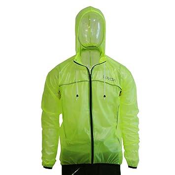 Lixada Chubasqueros Chaqueta Impermeable Transpirabilidad con capucha para Ciclismo Equitación Deportes Al Aire Libre: Amazon.es: Deportes y aire libre