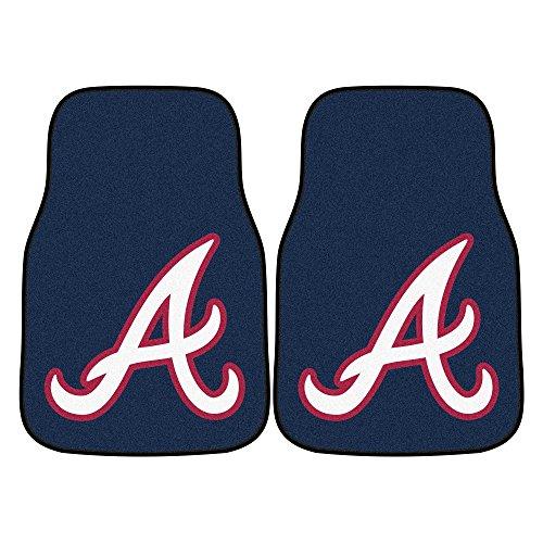 - MLB - Atlanta Braves 2 Piece Front Car Mats