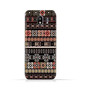 AMC Design Samsung Galaxy J4 2018 TPU Silicone Protective case with Boho Seemless Pattern Design