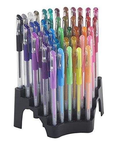 ECR4Kids GelWriter Gel Pens Set Premium Multicolor in Stadium Stand (44-Count)