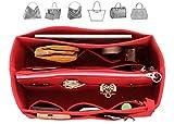 Felt Organizer (with Detachable Middle Zipper Bag), Bag in Bag, Wool Purse Insert, Customized Tote Organize, Cosmetic Makeup Diaper Handbag