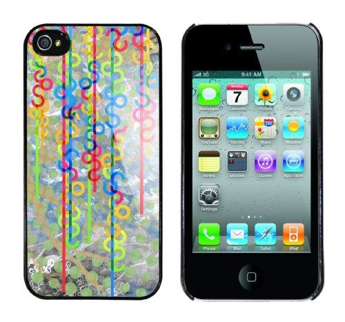 Iphone 4 Case Colormix Rahmen schwarz
