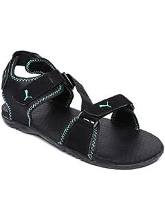 248dc0ac997 Puma Men s Woody DP Black-Brilliant Blue Athletic   Outdoor Sandals ...
