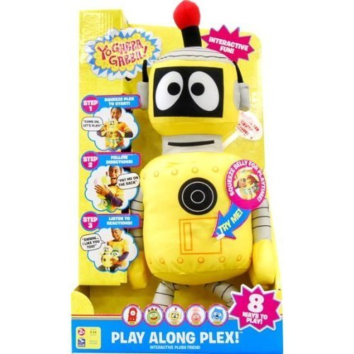 Yo Gabba Gabba! Play Along Plush - Plex