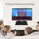 Wireless Bluetooth Home Audio Amplifier - 100W 5