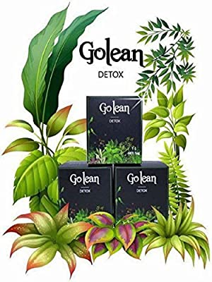 2 Box x 14 Capsules - Golean Detox herbal tea help weight loss, 100% Natural Weight Loss Tablets