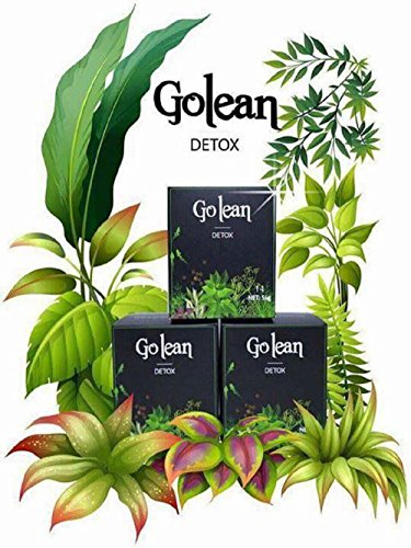 1 Box x 14 Capsules - Golean Detox herbal tea help weight loss, 100% Natural Weight Loss Tablets by Brian Supermarket