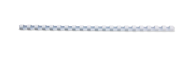 GBC Kunststoff-Binderücken (21 Ringe, 280 Blatt, A4, 32 mm), 50 Stück weiß 50 Stück weiß 335019