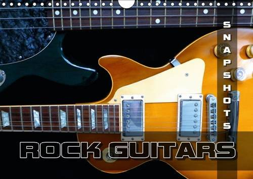 ROCK GUITARS Snapshots 2016: Pictures of rock guitars which have written rock history