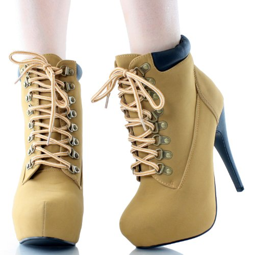 Womens Work Boots With High Heels 96
