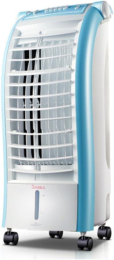 Zhongwei - ventilador de la torre Humidificación, purificación y filtración de una sola pieza, tanque de agua grande, pantalla táctil inteligente, ventilador de aire móvil doméstico refrigerado por ag