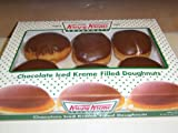 2 -6 packs of Krispy Kreme Filled doughnuts with Kreme in the middle. These should be eaten within a couple days after you recieve them.