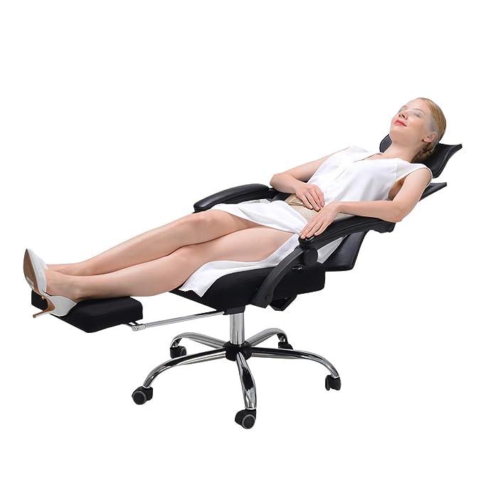 6 opinioni per Hbada Ergonomic Office Recliner Chair- Sedia da Ufficio con Schienale Alto Sedia