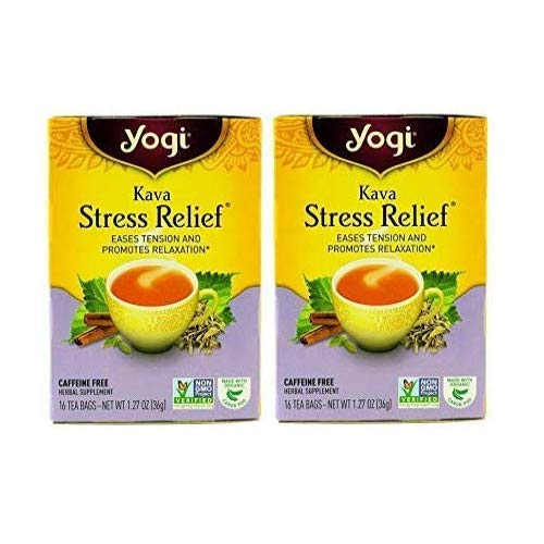 Yogi Tea - Kava Stress Relief - 16 Per Box - (2 Pack)