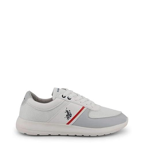 U.S. Polo Sneaker FAREL4027S9_MY1 Hombre Color: Blanco Talla: 43 ...