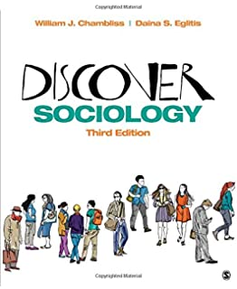 Amazon discover sociology 9781483365206 william j chambliss discover sociology fandeluxe Gallery